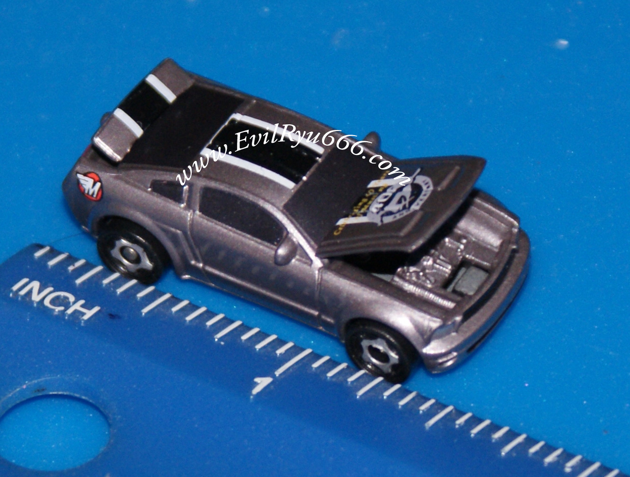 micro machines ford mustang 2004 40th anniversary deluxe grey