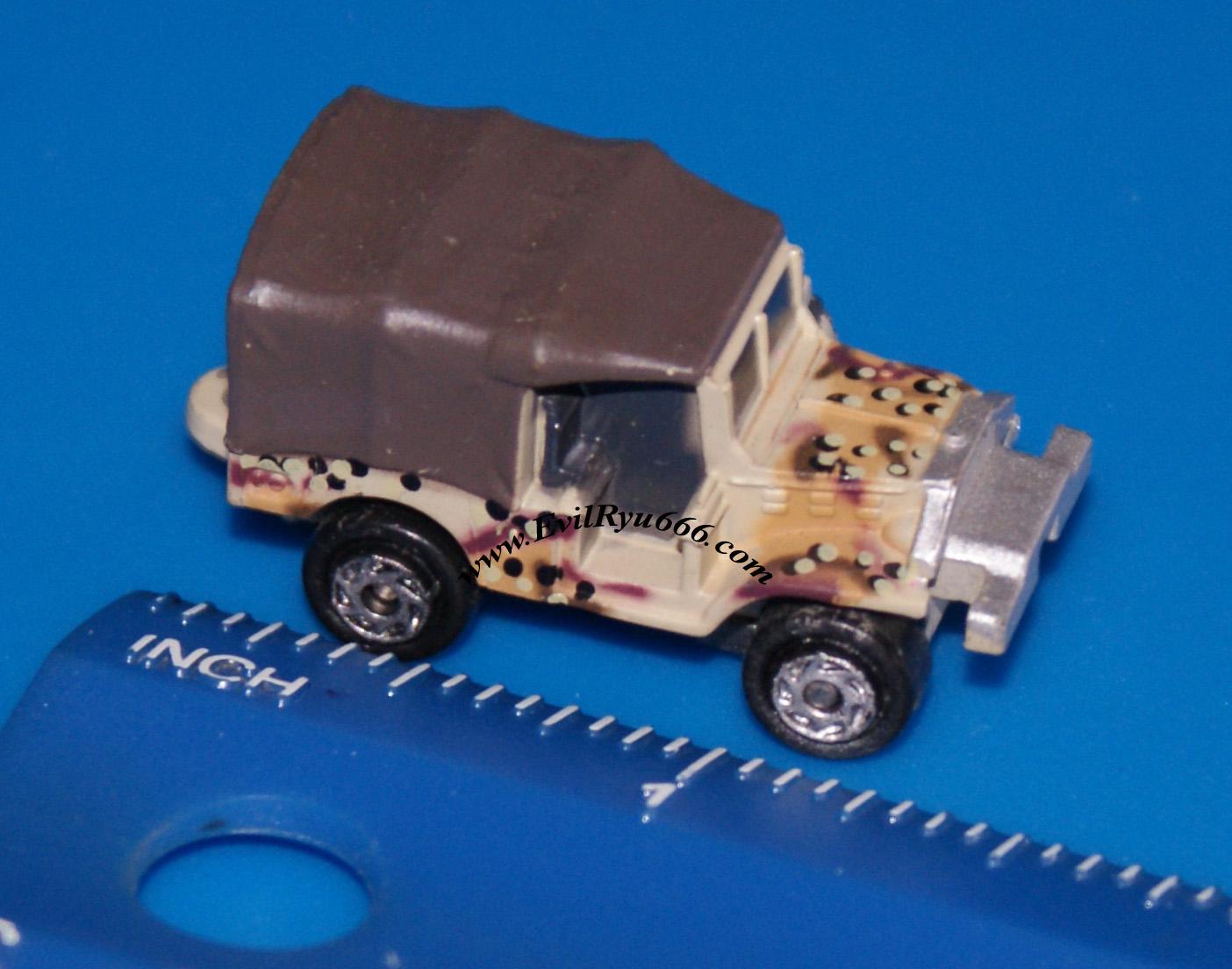 Military Micro Machines 1999 M-37 M37 MEDIC LIGHT TRUCK Galoob