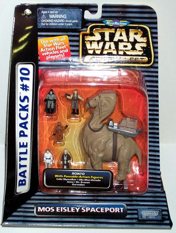 Micro Machines Star Wars Action Fleet Ronto /& Jawa