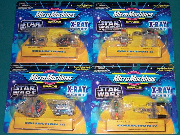 STAR WARS GALOOB ACTION FLEET /& MICRO MACHINES SETS ALL MOC